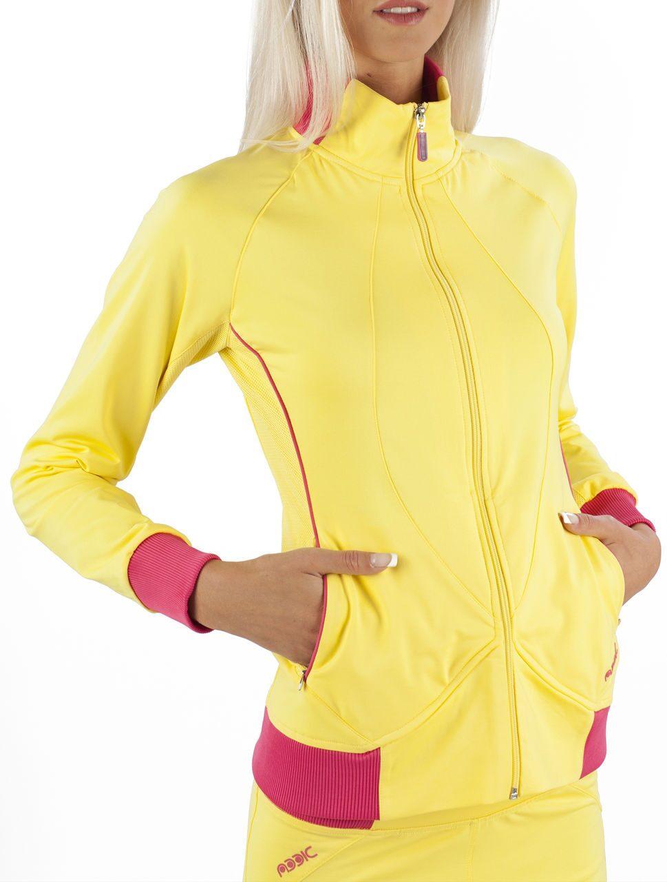 Женский спортивный костюм желтый