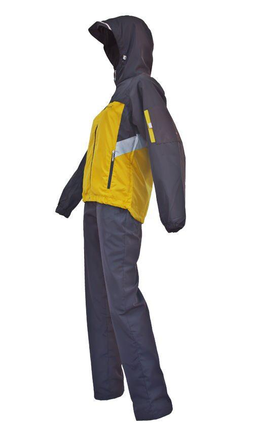 Желтый спортивный костюм женский