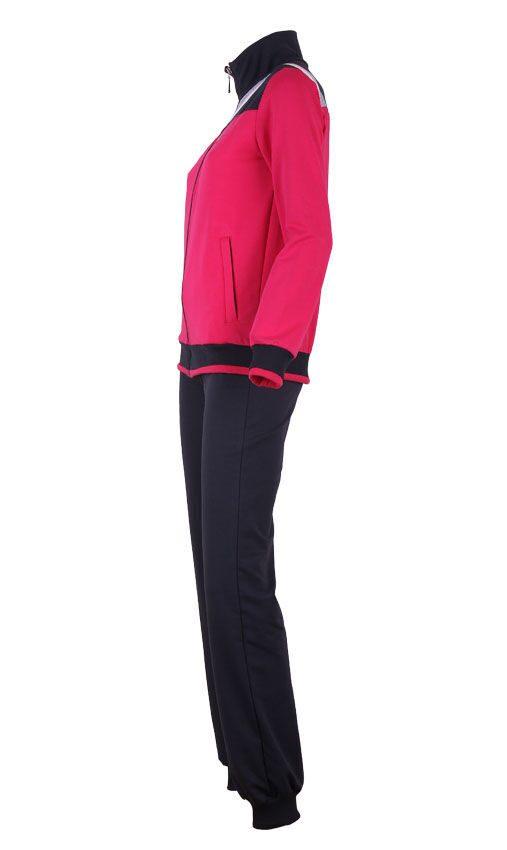 Красный спортивный костюм женский