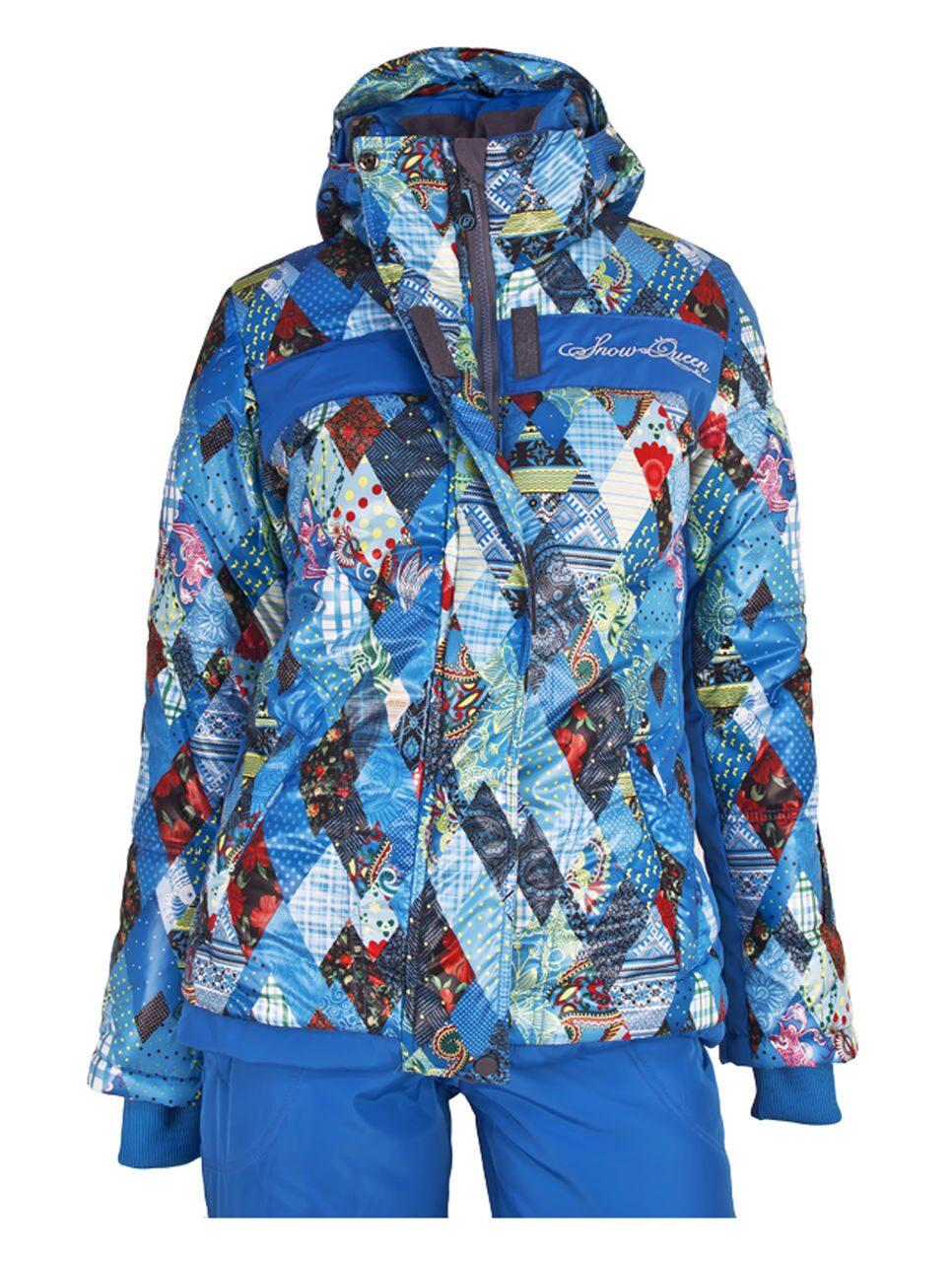 Зимний женский костюм для прогулок
