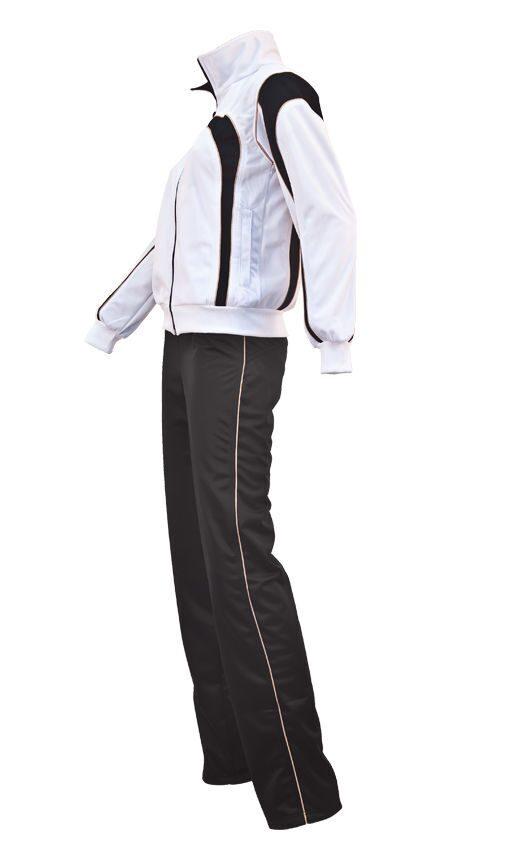 Купить белый спортивный костюм женский