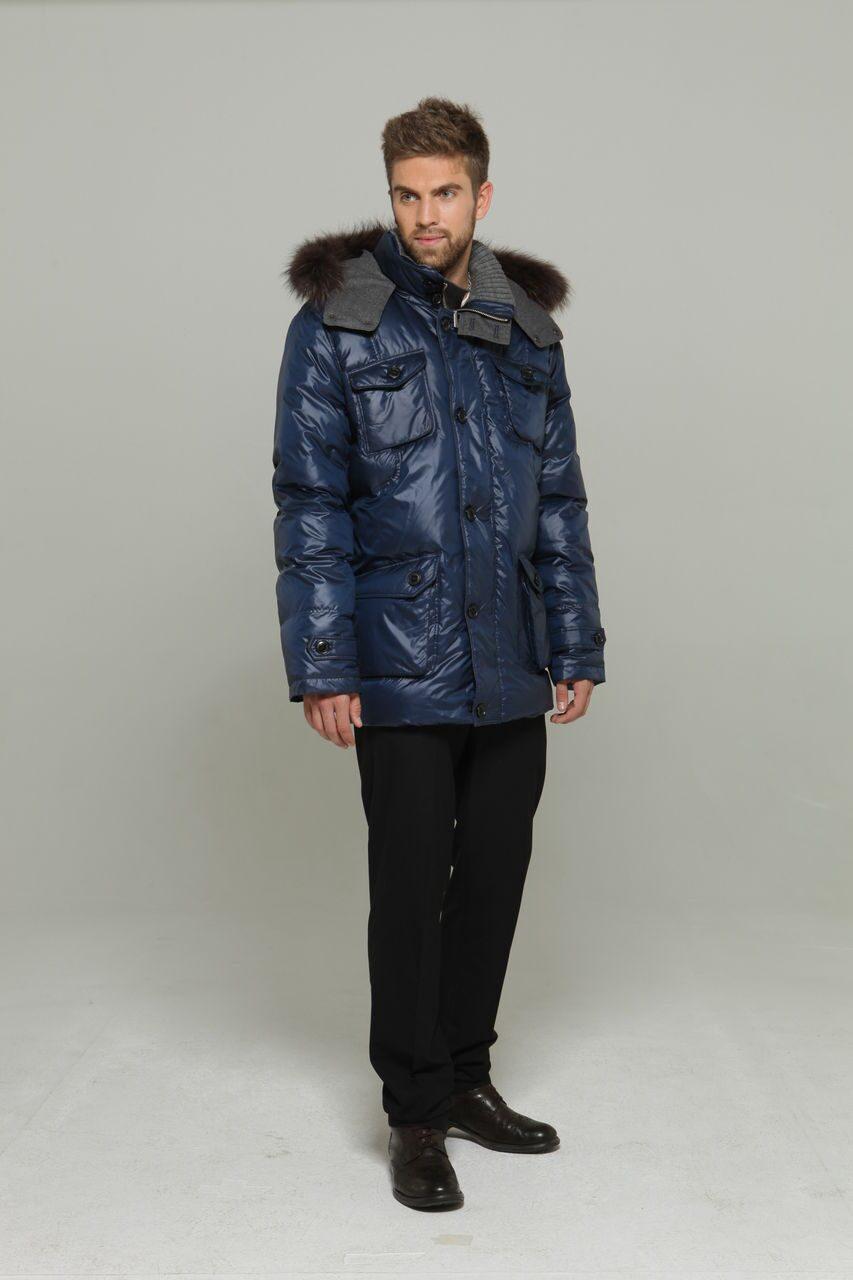 Зимние куртки мужские удлиненные