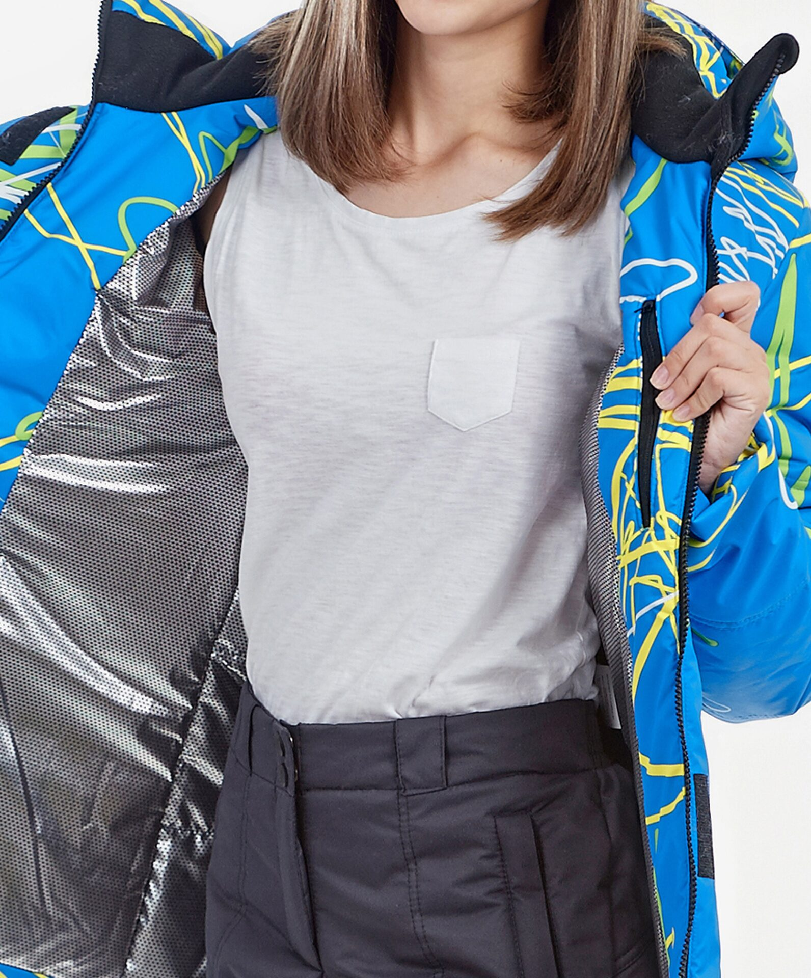 Мембранный костюм женский для прогулки