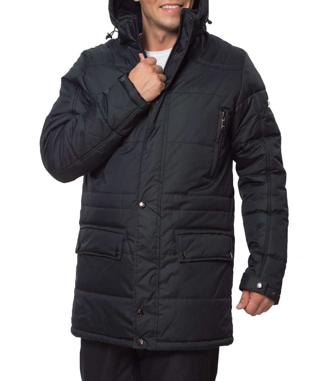 5024ef49e7a Черная мужская зимняя куртка арт. 466. Есть большие размеры