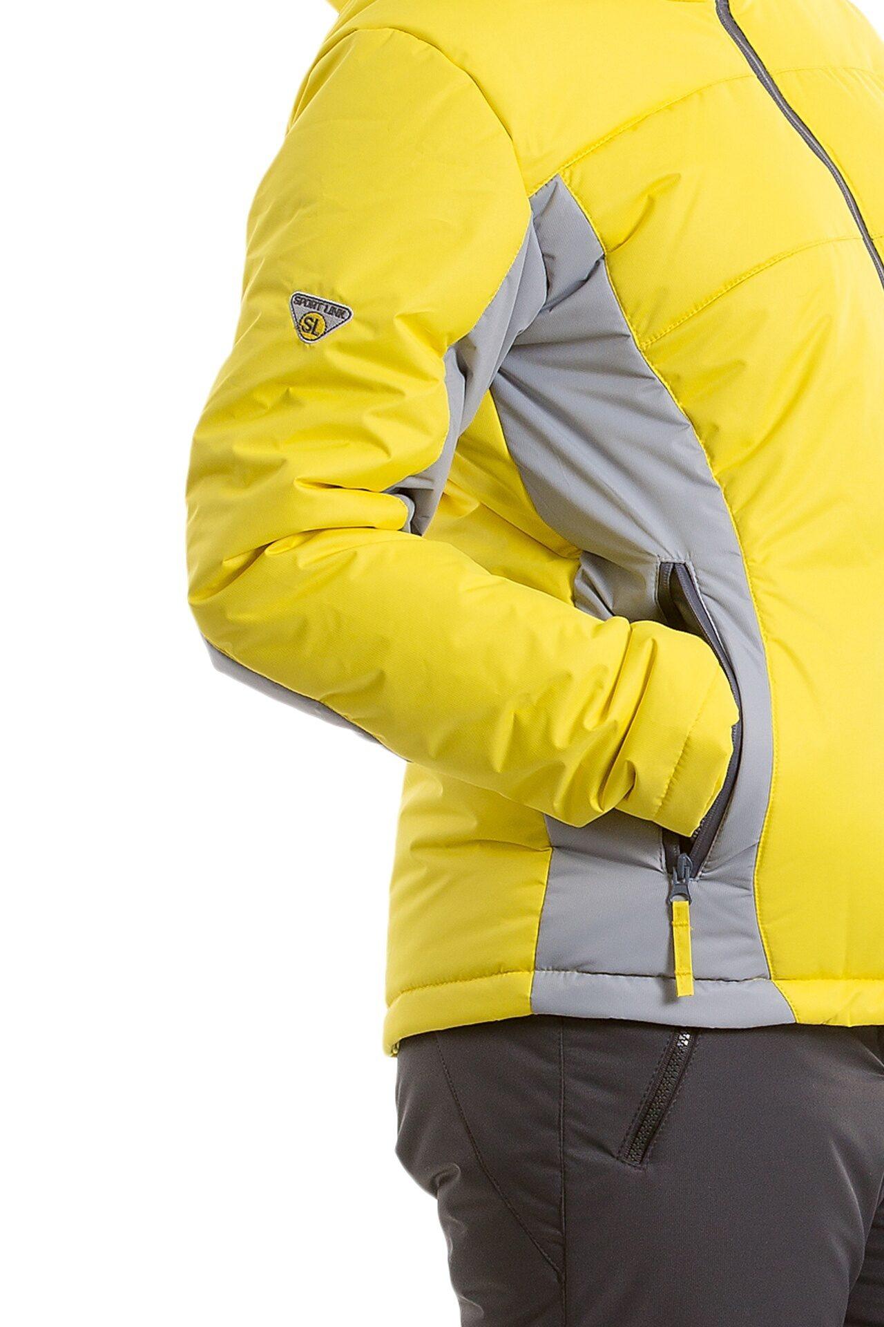 f709c4fbe04 Мембранный женский зимний костюм М-163 цв. желтый