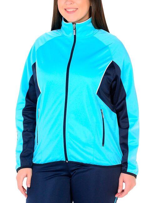 b93e57e7 Женский спортивный костюм большого размера арт 1084