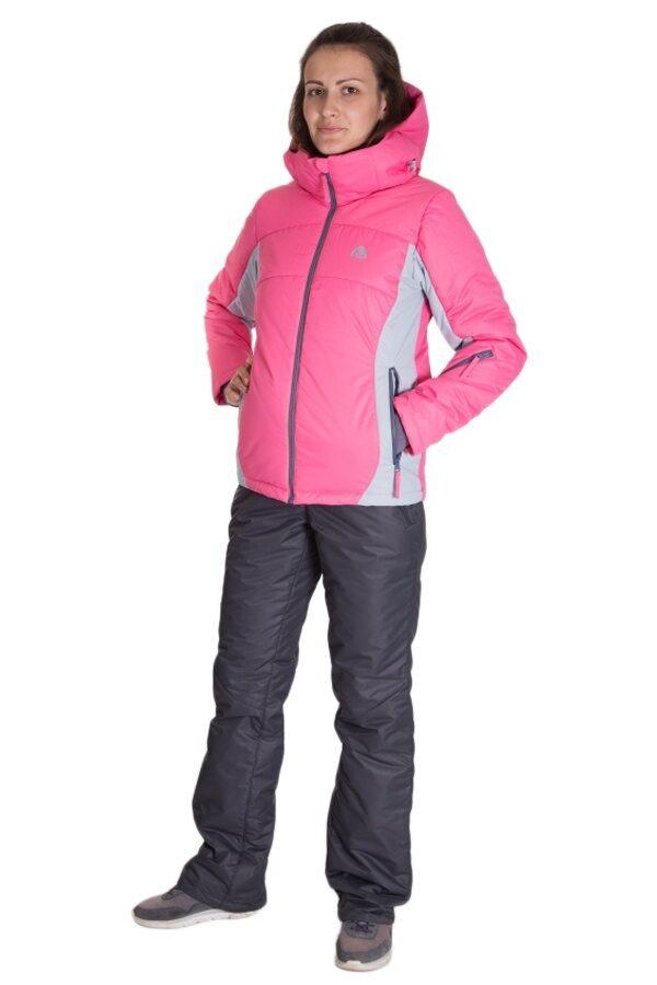 4d9498d428f Розовый женский зимний костюм М-163