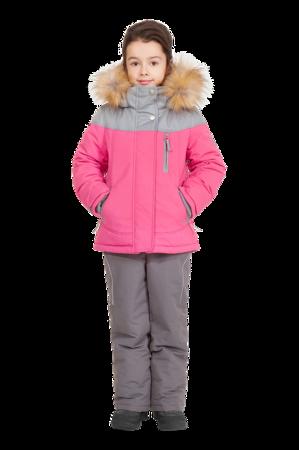 детский зимний костюм для девочки 277 1