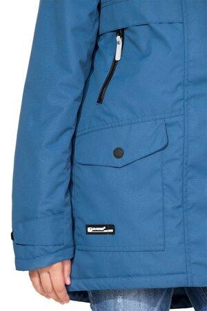 Подростковая куртка осень весна для девочки арт 271 джинс 2