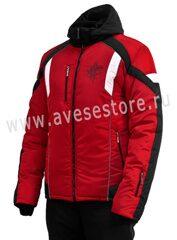 3e4710486427 Мужской зимний костюм м-243 красный с черным
