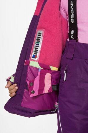 Зимний костюм для девочки подростка арт 256 фиолетовый цв 7
