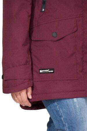Подростковая куртка осень весна для девочки арт 271 марсала 2