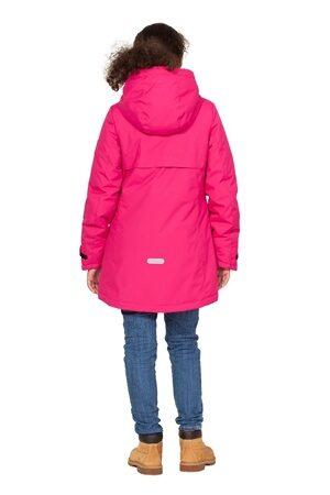 Подростковая куртка осень весна для девочки арт 271 малина 5