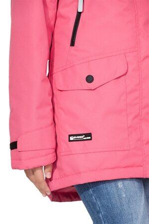Подростковая куртка осень весна для девочки арт 271 розовая 3