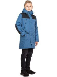 Демисезонная куртка на подростка арт 270 джинс лицо