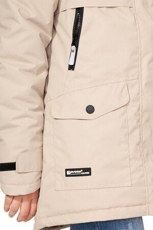 Подростковая куртка осень весна для девочки арт 271 беж 4