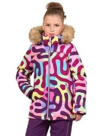 Зимний костюм для девочки подростка арт 256 фиолетовый цв kbwj