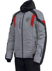 4074bedc8751 Мужской зимний костюм, м-243 Серый цв.