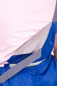 Голубой детский зимний костюм на девочку м-159 5