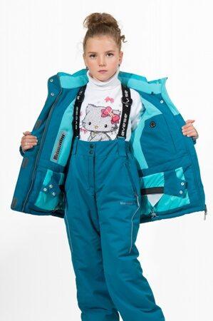 детский зимний костюм штаны на девочку 277 2 подкладка 3
