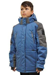 Куртка цвета джинс на мальчика 2