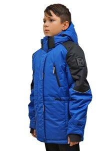 Синяя детская куртка на мальчика 213 3