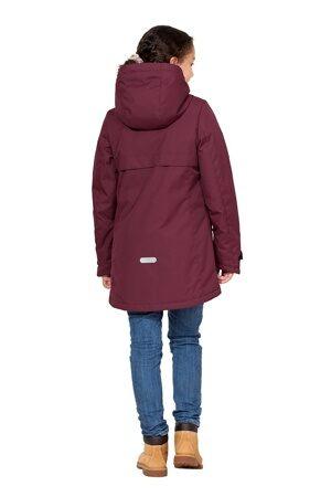 Подростковая куртка осень весна для девочки арт 271 марсала 4