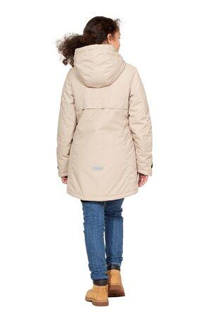 Подростковая куртка осень весна для девочки арт 271 беж 7