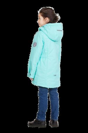 Детская куртка осень весна для девочки мятная 2