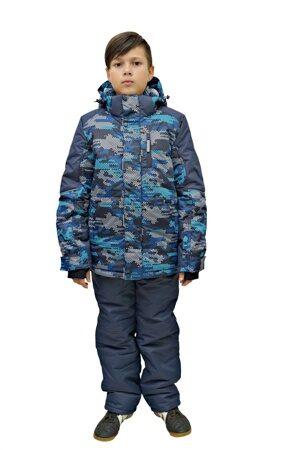 Детский зимний костюм на мальчика до минус 30 арт 213 2