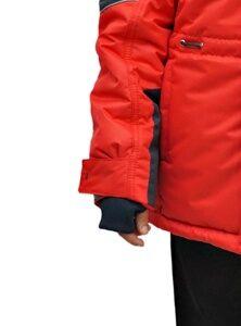 Красная зимняя куртка на подростка 2018 2019 213 5