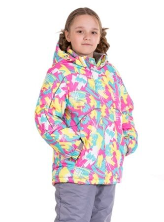 Зимний костюм на девочку розовый Родос 1 face
