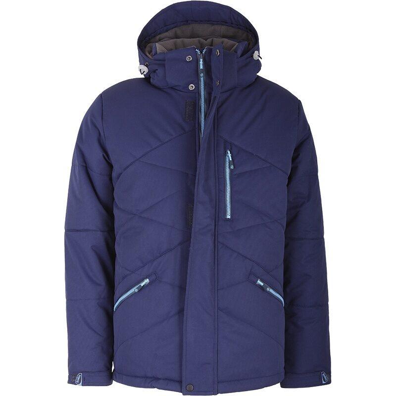 Зимняя куртка мужская удлиненная зима 2018 2019 арт 194 4