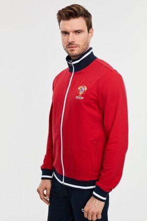 Cпортивный костюм мужской красный СССР арт 794_3