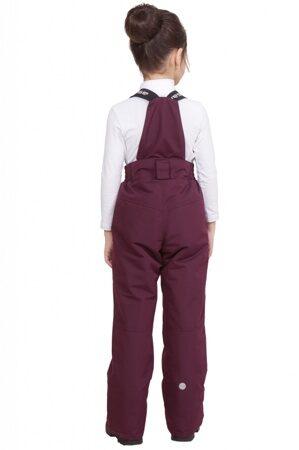 детский зимний костюм на девочку до минус 30 марсала подкл 3