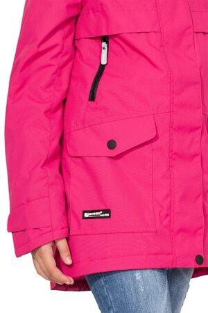 Подростковая куртка осень весна для девочки арт 271 малина 3